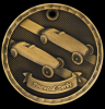 3D Pinewood Derby Medal 3-D Series Medal Awards
