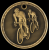 3D Bicycling Medal 3-D Series Medal Awards