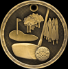 3D Golf Medal 3-D Series Medal Awards