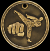 3D Martial Arts Medal 3-D Series Medal Awards