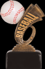 Headline Baseball Resin Baseball Trophy Awards
