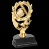 Baseball/Softball Sport Wreath Trophy Baseball Trophy Awards