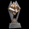 Baseball/Softball Sun Ray Resin Baseball Trophy Awards