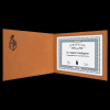 Rawhide Leatherette Certificate Holder Certificate Holders