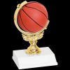Basketball Spinner Trophy Figure on a Base Trophies