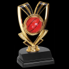 Basketball Ribbon Trophy Figure on a Base Trophies