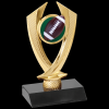 Football Falcon Trophy Figure on a Base Trophies