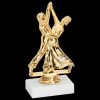 Ballroom Dance Trophy Figure on a Base Trophies