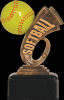 Headline Softball Resin Headline Resin Trophy Awards