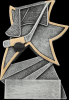 Hockey Jazz Star Resin Hockey Trophy Awards