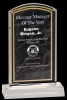 Black Marble Arch Acrylic Awards Marble Acrylic Awards