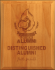 All American Ogee-Edge Red Alder Plaque Red Alder Plaques