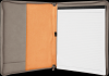 Gray Leatherette  Portfolio with Zipper Sales Awards