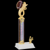 Headline Football Trophy Single Column Trophies