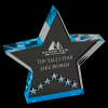 Blue Star Performance Acrylic Star Awards