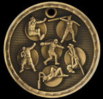 3D Track and Field Event Medal 3-D Series Medal Awards