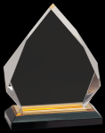 Gold Diamond Impress Acrylic Achievement Awards