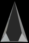 Crystal Facet Triangle Achievement Awards