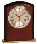 Mahogany Finish Square Arch Clock Award Arch Awards