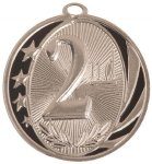 2nd Place MidNite Star Medal Basketball Trophy Awards