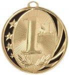 1st Place MidNite Star Medal Basketball Trophy Awards