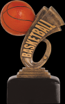 Headline Basketball Resin Basketball Trophy Awards