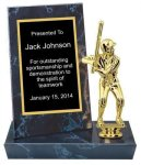 Black Marble Finish Stand-up Billboard Plaque Billboard Stand-up Plaque Trophies