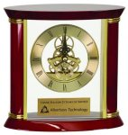 Exectutive Rosewood Piano Finish Clock Boss Gift Awards