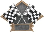 Racing - Diamond Plate Resin Trophy Car/Automobile Trophy Awards