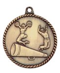 High Relief Medal -Cheer  Cheerleading Trophy Awards