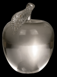 3D Crystal Clear Apple Clear Optical Crystal Awards