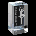 Clear Crystal Block Clear Optical Crystal Awards