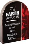 Red Velvet Arch Acrylic Colored Acrylic Awards