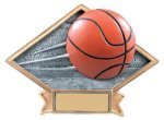 Basketball Diamond Resin Plate Diamond Plate Resin Trophies