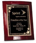 Rosewood Piano Finish Eclipse Plaque Award Employee Awards