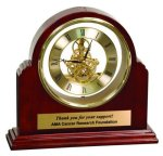 Grand Piano Step-Arch Clock Employee Awards