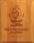 All American Ogee-Edge Red Alder Plaque Employee Awards