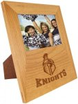 Genuine Red Alder 4x6 Picture Frame with Engraving Area Executive Gift Awards