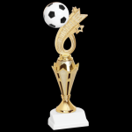 Soccer Headline Trophy Figure on a Base Trophies