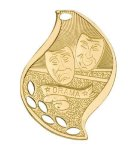 Drama Flame Academic Medal Flame Medals
