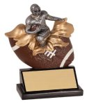 Male Football Explosion Resin Trophy Football Trophy Awards