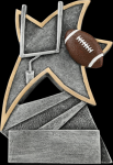 Football Jazz Star Resin Football Trophy Awards