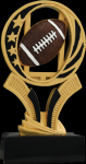 Football Midnight Star Resin Football Trophy Awards