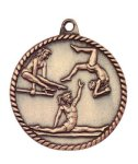 High Relief Female Gymnastics Medal Gymnastics Trophy Awards