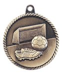 High Relief Soccer Medal High Relief Medallion Awards