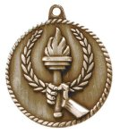 High Relief Torch Medal High Relief Medallion Awards