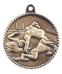 High Relief Football Medal High Relief Medallion Awards