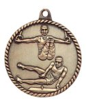 High Relief Male Gymnastics Medal High Relief Medallion Awards