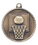 High Relief Basketball Medal High Relief Medallion Awards