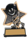 Hockey Little Pals Resin Trophy Hockey Trophy Awards